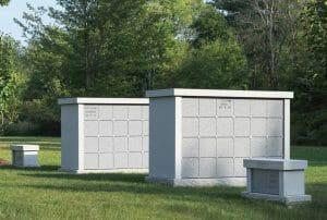 Straight Columbarium - Cremation