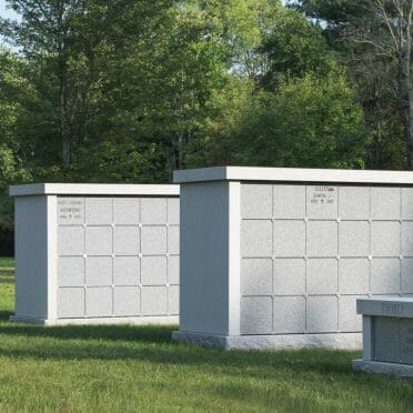 Blue gray Columbarium