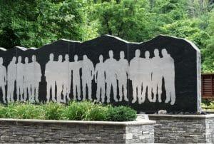 Upper Big Branch Miners Memorial detail