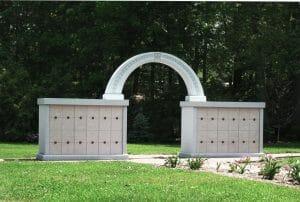 Blue gray columbarium