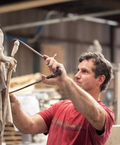 Mike Celley is a SECOND GENERATION SCULPTOR