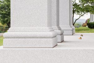 Ames Mausoleum detail