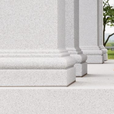 Ames Mausoleum detail