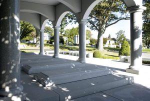 Personalized Mausoleum close-up