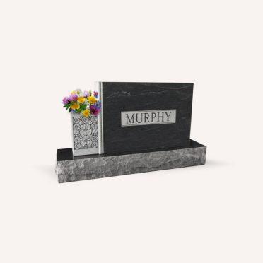 Black mist cemetery monument
