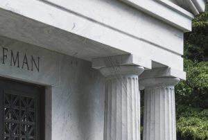 Marble Mausoleum close-up