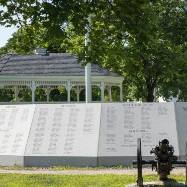 Armed Forces Civic Memorial | Walpole, NH | Blue Gray