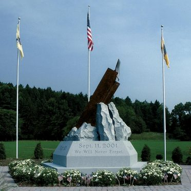Rock of Ages Civic Memorial_Sussex County 9/11 Monument_ Blue Gray_Civic Memorials_ Sussex Community College, Sussex, NJ