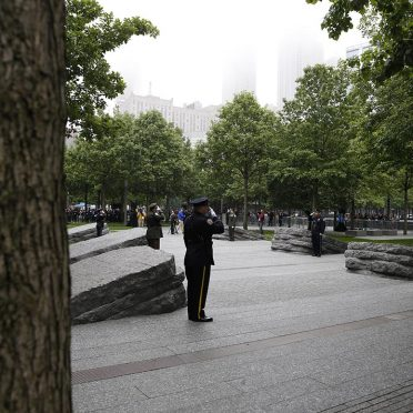 Rock of Ages Civic Memorial_The Glades_Laurentian Green granite_New York, NY