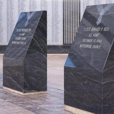 Niagara Veterans Civic War Memorial | Niagara, NY | Black Mist & Blue Gray